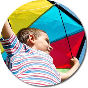 fly kite
