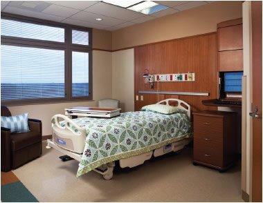 SRMC patient room