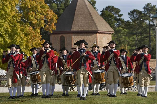 Colonial Williamsburg Foundation Fife and Drums