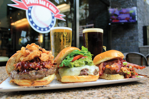 Burgers and Brews at National Pastime