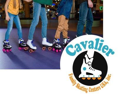 cavalier roller skating