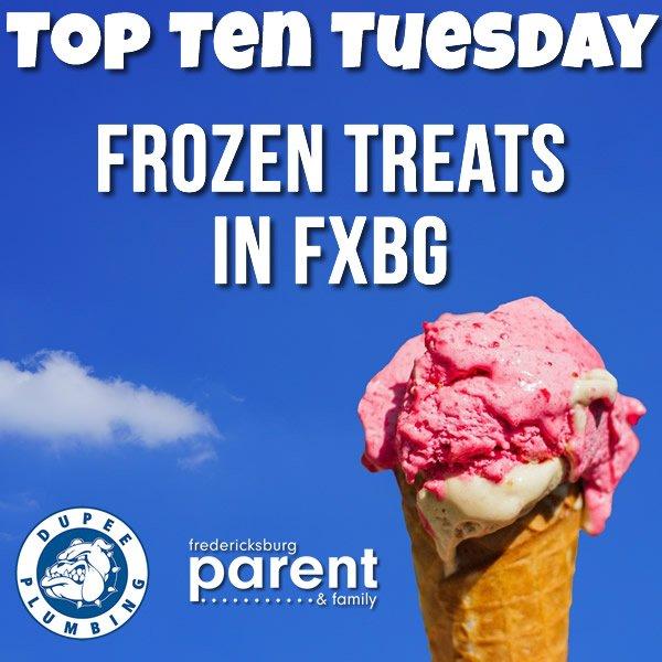 Top 10 Frozen Treats sm
