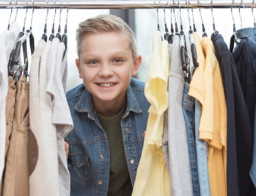 Overwhelmed? Buy Fewer Clothes