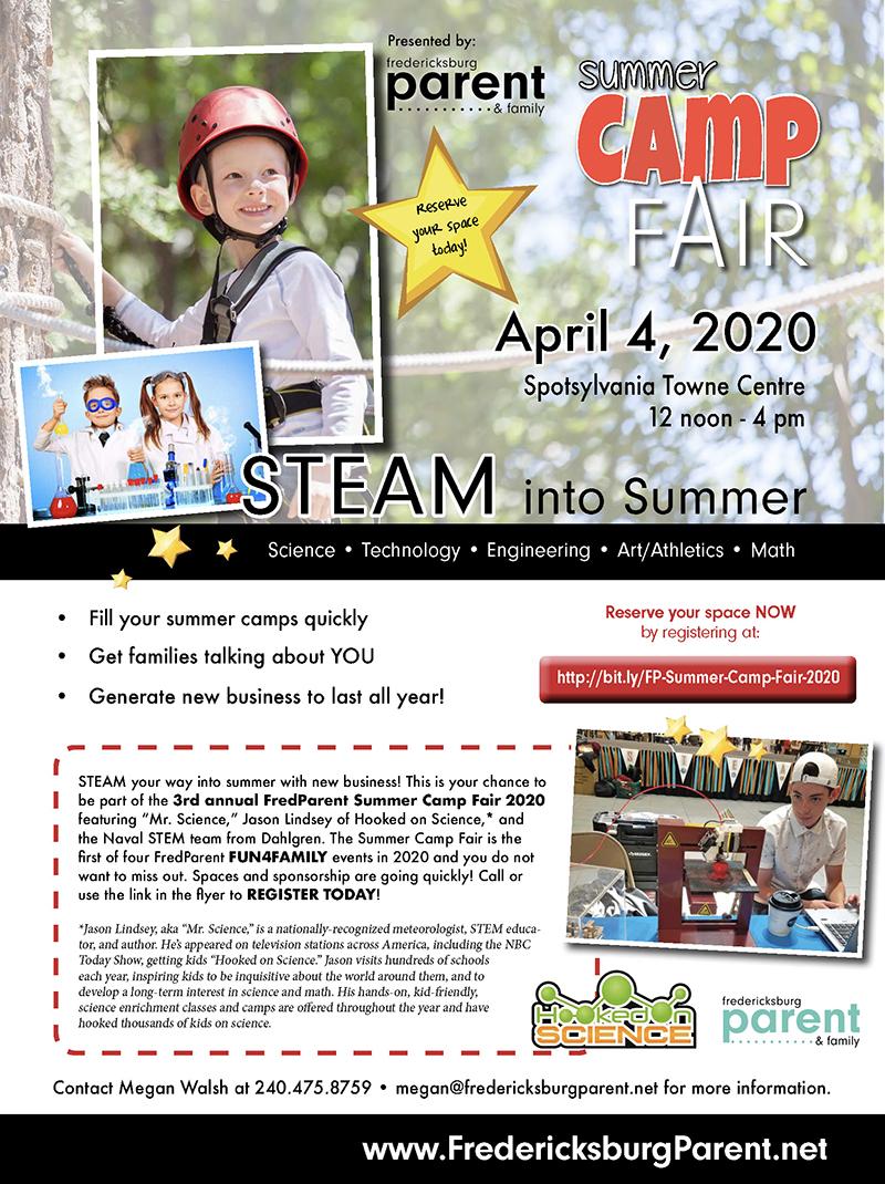FredParent Camp Fair